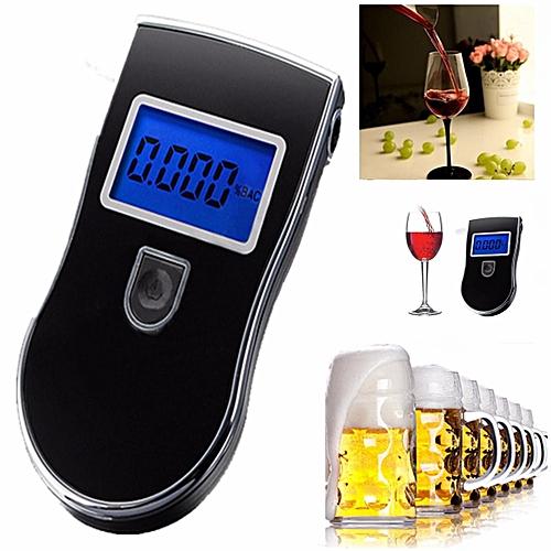 LCD Digital Car Breath Alcohol Analyzer Tester Breathalyzer Police Test Detector