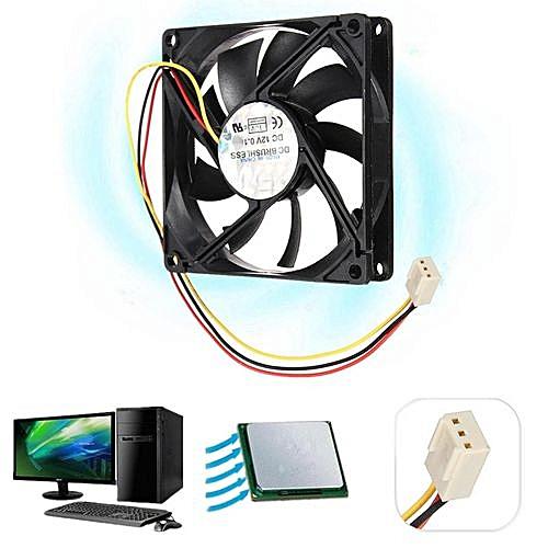 50mm DC 12V 3pin Internal PC Computer Desktop Case CPU Cooler Cooling Fan Quiet