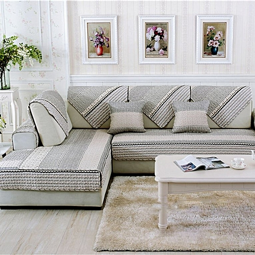 Home-Modern Sofa Furniture Couch Seats Mat Cotton Non-Slip Cover Slipcover 90*90cm Colorful