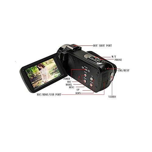 "Digital Video Camera Camcorder 24 MP 3.0"" Touchscreen HD"