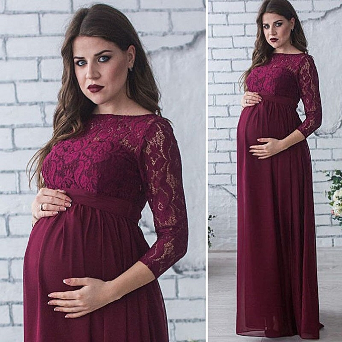 2158aa34d249b Maternity Photography Props Pregnancy Dress Pregnant Dress