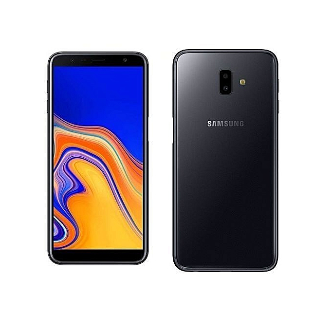 Galaxy J6 Plus 6-Inch HD+ Super AMOLED (3GB,32GB ROM) Android 8 1 Oreo,  (13MP + 5MP) + 8MP, Dual SIM 4G LTE Smartphone - Black