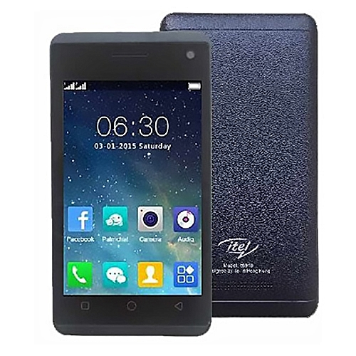 It6910 4.0 Inch (8MB ROM + 8MB RAM) 2MP + 1.3MP Dual SIM 2G Phone - Dark Blue