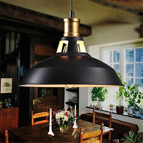 Industrial Vintage Pendant Light Steel Lamp Base Classical Light Fitting Lamp