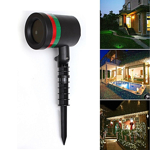 US Plug LED Laser Light Projection Outdoor Projector Light Xmas Christmas New