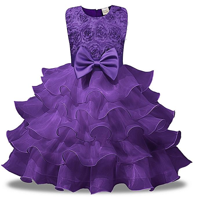 e338c2caa2ae Glorystar Nice Children Dress Skirt Rose Beautiful Girls Princess ...