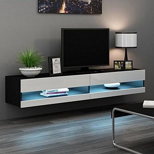 LED Wall TV Stand(C03S)-High Gloss