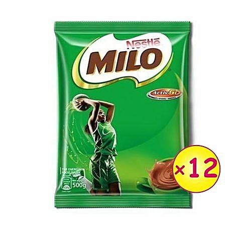 Nestle Milo Refill - 500g X12 ( Carton)