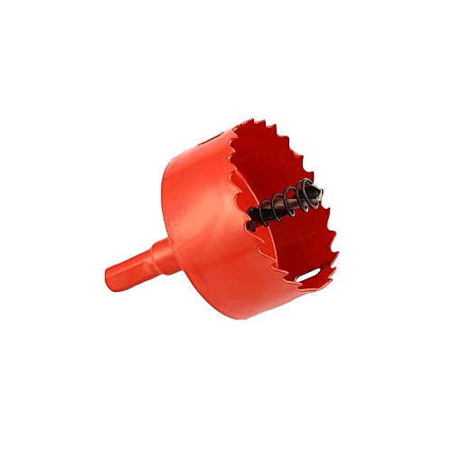 M42 1pc Opener Drill Bit Cutter Holesaw 60MM Drilling Hole Saw Carpentry Tool Red