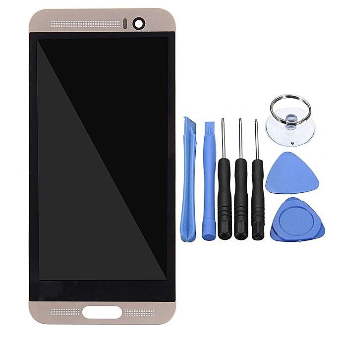 on sale 71080 ff696 New HTC One M9 Plus M9+ LCD Display Touch Screen Digitizer Assembly + Frame  Gold