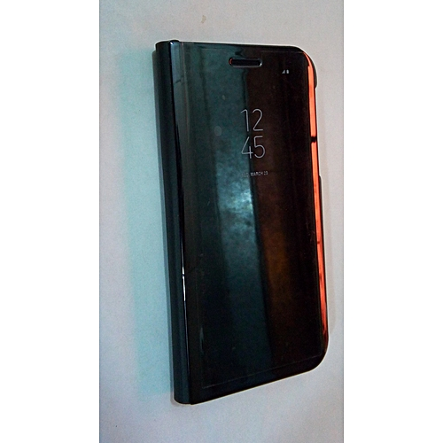 new concept e5ba2 8ade4 Generic Samsung S7 Edge Clear View Cover Black | Jumia NG