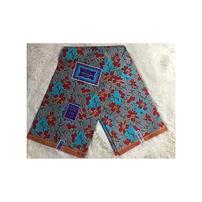 Fashion Ankara Fabric Multicolored 6yards