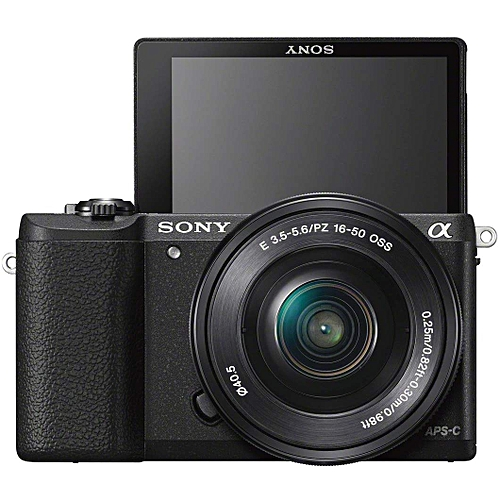 Sony Alpha A5100 Mirrorless Camera With 16-50mm Lens