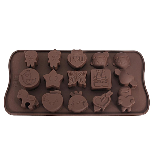 High Temperature Resistance Animal Silicone Chocolate Mold