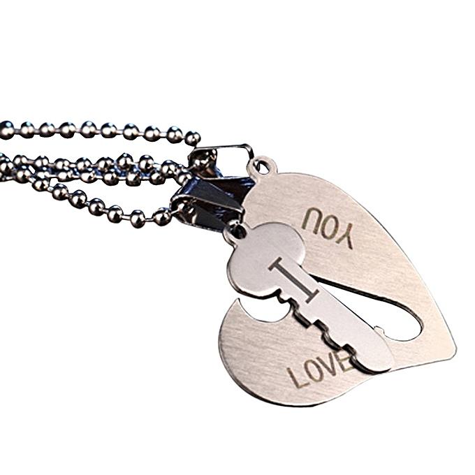 Buy neworldline arrow i love you heart key couple key chain arrow i love you heart key couple key chain necklace pendant keyfob lover gift valentine mozeypictures Choice Image