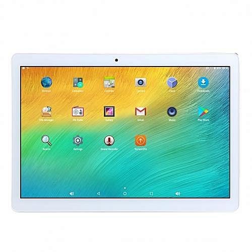 "10.1"" Touchscreen 2GB+16GB Dual WiFi Tablet - Silver"
