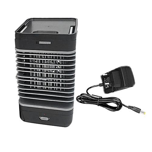 Handy Air Cooler Table Desktop Fan Humidifier Portable Conditioning Black