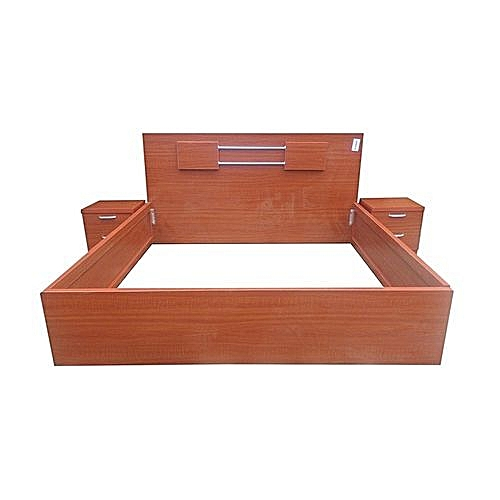 Kings Size 6*6 WOODEN Bed (Lagos, Ogun And Ibd Orders Only)