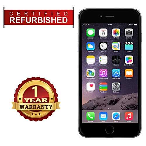 Certified Refurbished IPhone 6 - 16GB - Space Gray