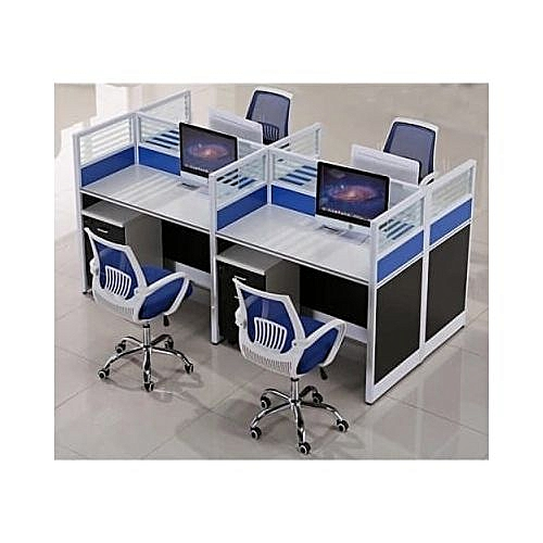 Office Workstation - Blue