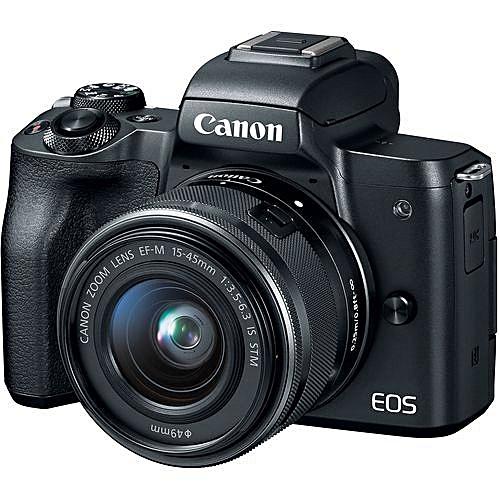 EOS M50 Mirrorless Camera Kit (15-45mm)