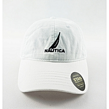 28e220300c9 Nautica White Snapback Fashion Women Men Unisex Baseball Golf Ball Sport Cap