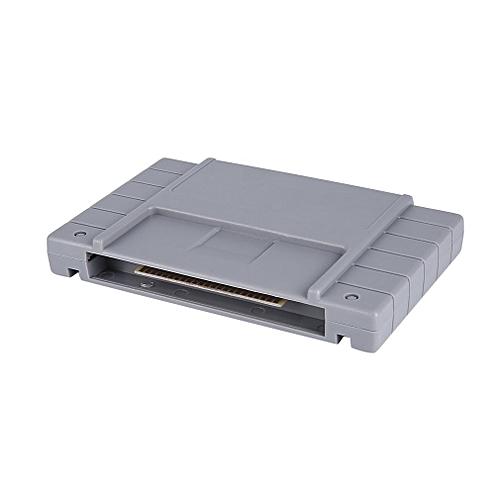 Generic ta 16 Bit Drive Flash Cartridge Video Console Game Card For super mario world -Gray