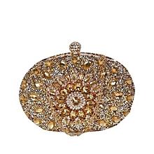 f51050ff69 Ladies Beaded Clutch Purse - Silver Gold