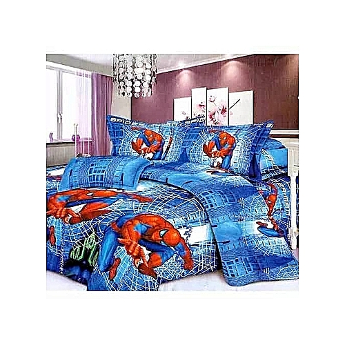 Kids Bed Sheet With 2 Pillow Cases