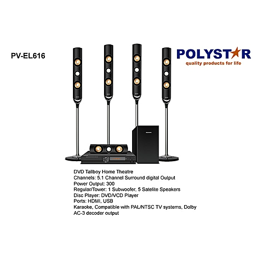 PV-EL616 DVD Home Theater System