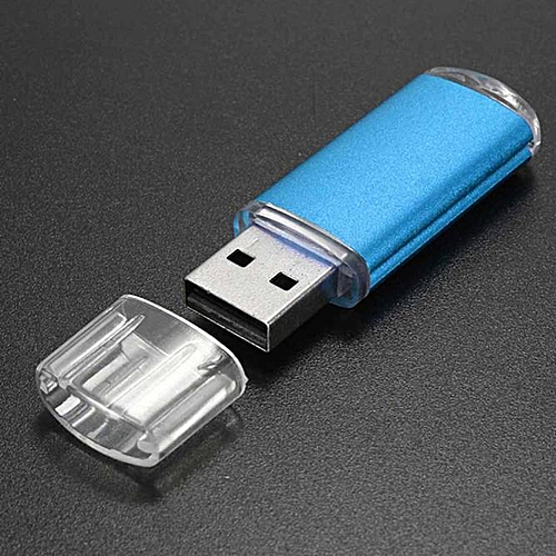 2GB USB 2.0 Metal Flash Memory Stick Storage Thumb U Disk BU