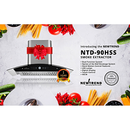NTD-90HSS Motion Sensor - Range Hood/smoke Extractor/cooker Hood (3 Power System)