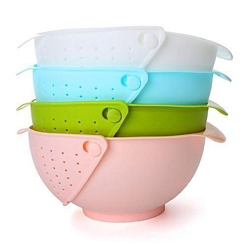 Kitchen Sieve & Bowl Rice & Vegetable Rice Washer X 3Pieces