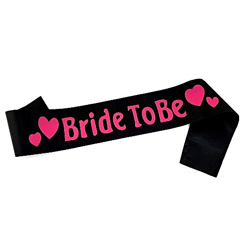Bridal Sash For Hen Party