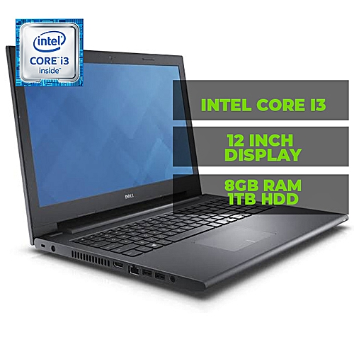 Dell Inspirion 14 3467 Intel Core I3-2.0ghz 1tb Hdd 8gb Ram DVD/CD Winds 10 +Free Bag