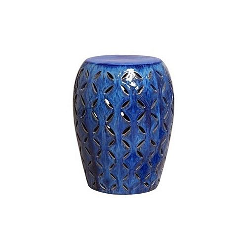 Chinese Ceramic Stools - Blue