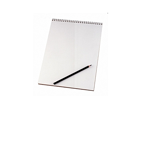 ARTIST SKETCH PAD WHITE 24 SHEETS 160 Gsm For Watercolour