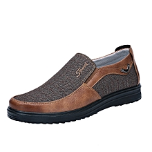 Streamce Shop Autumn Fashion Retro Business Casual Soft Bottom Comfortable  Flat Men  039 s de19a60a71f