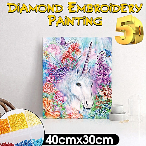 5D Diamond Painting Embroidery Cross Craft Stitch DIY Art Kit Home Decor
