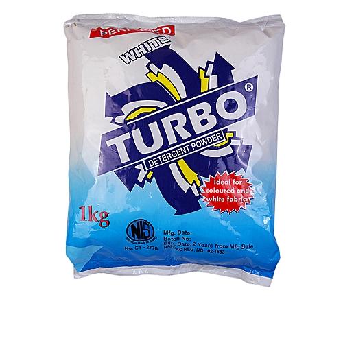 Turbo Detergent Powder 1kG X 6pcs( 1 Carton )