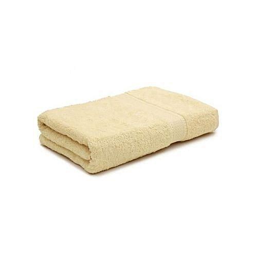 Medium - Bath Towel Cream Cotton - Medium