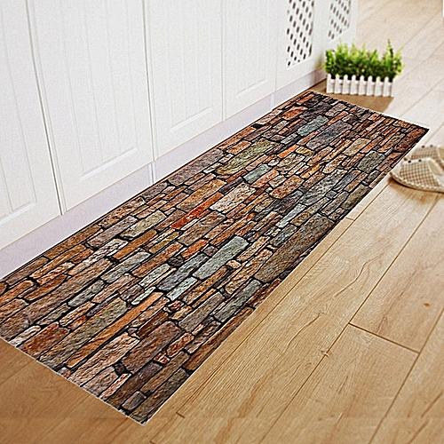 House DecorDining Room Carpet Shaggy Soft Area Rug Bedroom Rectangle Floor Mat 40*120CM-Multicolor