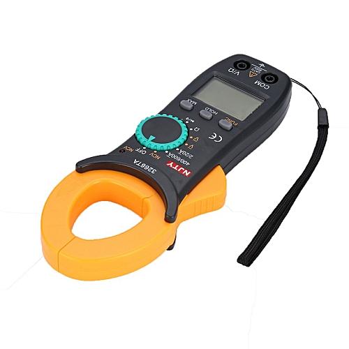 Digital Clamp Meter NJTY DC/AC Volt Amp Ohm Diode NCV Multimeter Ammeter