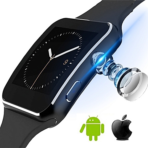 Touch Screen Support Bluetooth Smartwatch With Camera