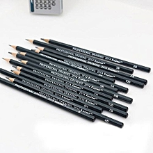 Tanson 14 Pcs Sketch Art Drawing Pencil Sketching Oil Base For Artist Sketc Stationery