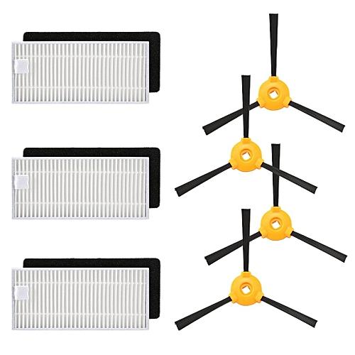Side Brush&Hepa Filters Ecovacs DEEBOT N79 N79S Robotic Vacuum Cleaner