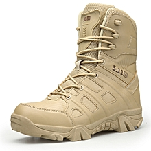 707e74f35 Delta Brand Military Tactical Boots Desert Combat Outdoor Army Hiking Shoes  Travel Shoes Leather Autumn Male