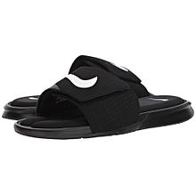 80c6bd758ee9d6 Nike Ultra Comfort Slide - Black White Black