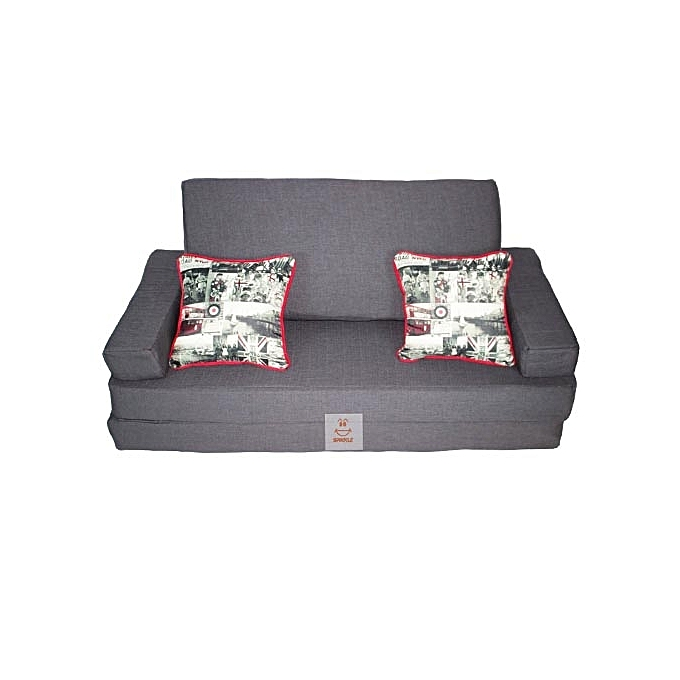 Spikkle Spikkle 3 Seater Sofa Bed Chair - Grey | Jumia NG
