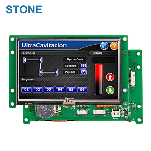 4.3 Inch Smart TFT LCD Module Driver + Touch Controller